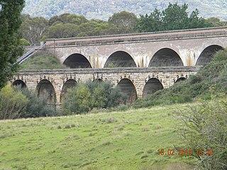 Bowenfels rail viaducts