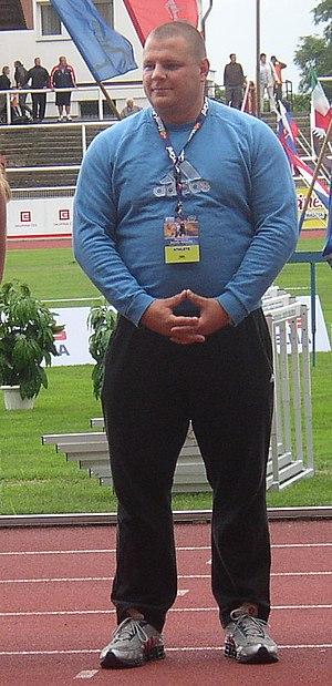 Ralf Bartels - Bartels at the 2008 Odložil Memorial in Prague