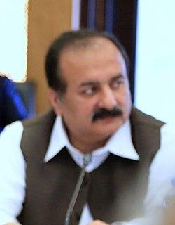 Rana Mashhood Ahmad Khan politician in Pakistan