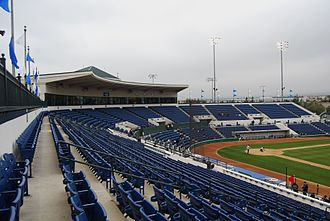 Rancho Cucamonga Quakes - The team plays their games at LoanMart Field, and has since 1992