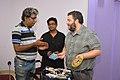Rangan Datta Presents Memento To Asaf Bartov - Wikidata Workshop - Kolkata 2017-09-16 2734.JPG