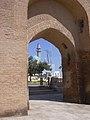Raqqa, Reste des Bagdhdad Tores (Bab Baghdad) der Alten Stadtmauer (As-Sur), 8. Jhdt. (38674542312).jpg