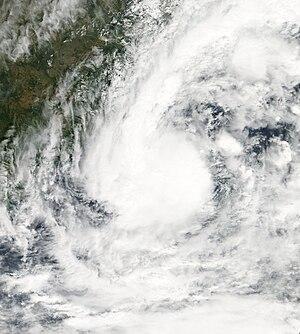 Cyclone Rashmi - Image: Rashmi 10 25 08