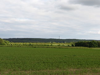 Rauensche Berge, view from the north