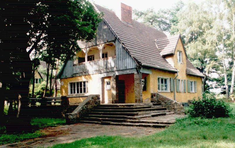 Residential house for the SS guards and Unterführer.