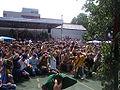 Ravensburg Rutenfest 2005 Adlerschießen Jubel nach dem Meisterschuss.jpg