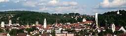 Ravensburg, Germany: View from West