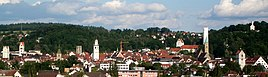 Ravensburg, seen from the west