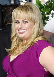 Rebel Wilson - the beautiful, friendly, exotic,  actress, comedian, writer,   with Irish, English, Welsh,  roots in 2019