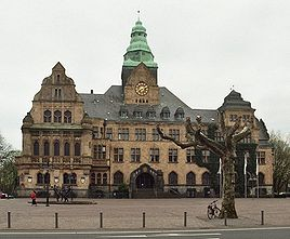 Town Hall of Recklinghausen.