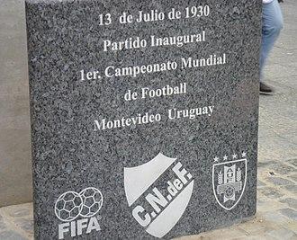 Estadio Gran Parque Central - Image: Reconocimiento GPC 1