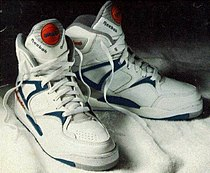 reebok pump basketball shoes history