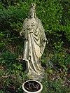 reek (landerd) rijksmonument 519144 klooster st. elisabeth, tuin, h.hartbeeld