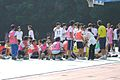 Relay Race in Daan Junior High School 20111022.jpg