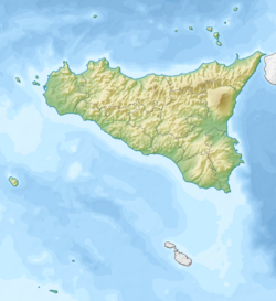 1968 Belice earthquake is located in Sicily