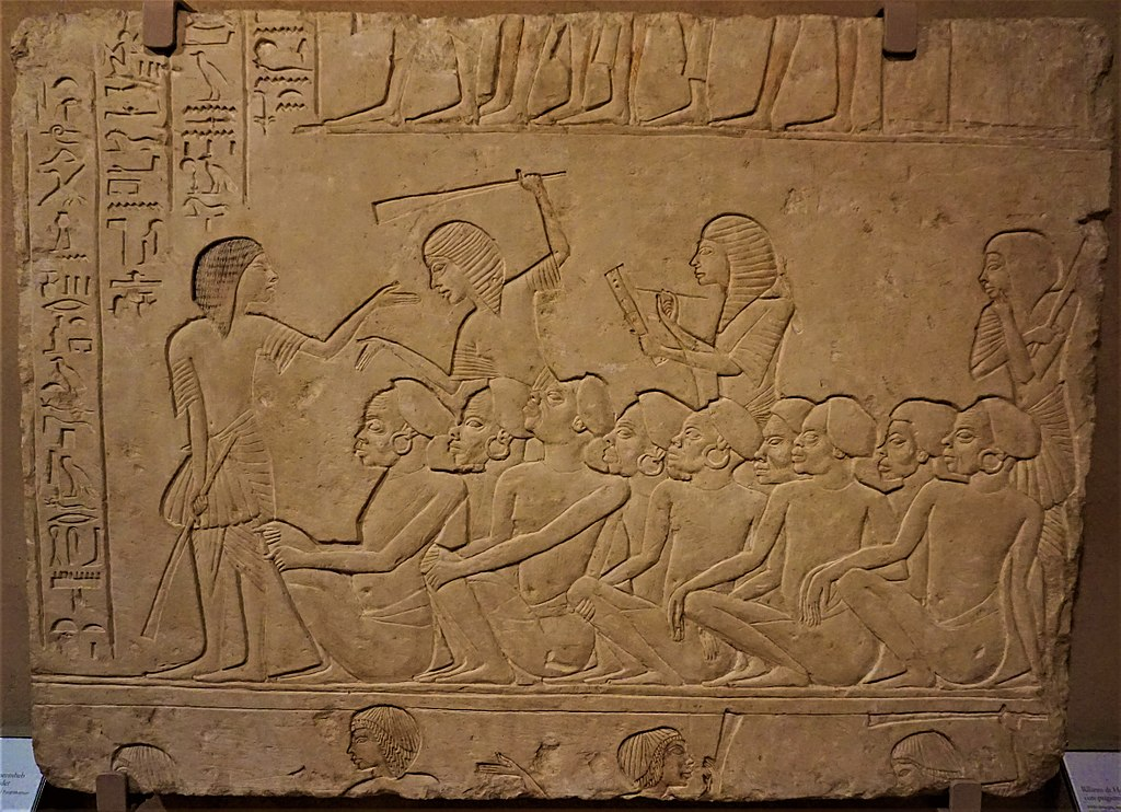 Relief of Horemheb with Nubian Prisoners