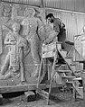 Relief voor Lelystad voor gemaal Wortman van Paul Grégoire vier bij vier mete, Bestanddeelnr 907-9112.jpg