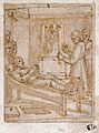 Religious and surgical episodes in the life of a man. Three Wellcome L0029888.jpg