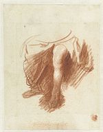 Rembrandt Study of the legs of a seated woman.jpg