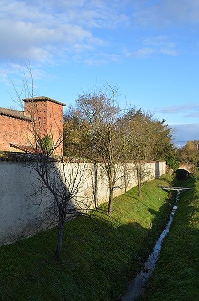Remparts de Saint-Trivier-sur-Moignans.