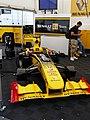 Renault F1 Team garage, 2010 Brno WSR (04).jpg