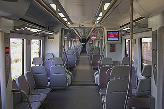 Civia - Image: Renfe Cercanías Interior