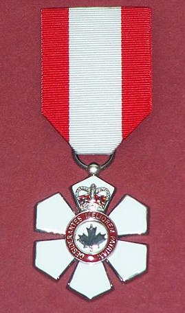 Replica Order of Canada member medal