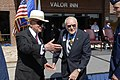 "Retired Col. George E. ""Bud"" Day greets H. Ross Perot.jpg"