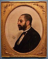 Retrat de Constantí Llombart, Ignasi Pinazo 1885.jpg