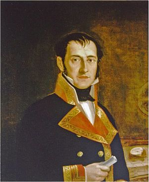 Felipe Bauza - Portrait of Felipe Bauzá, 1800, Museo Naval de Madrid (Naval Museum of Madrid)
