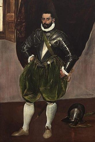 Vincenzo Anastagi - Portrait of Vincenzo Anastagi by El Greco