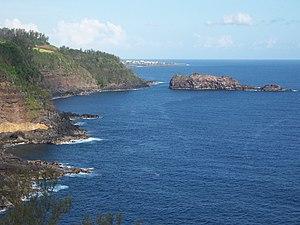 Petite-Île - The coastline of Petite-Île