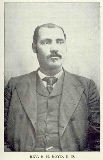 R. H. Boyd - Rev. Dr. R. H. Boyd c.1901