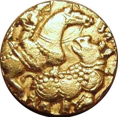 Rhino coin of Kumargupta I
