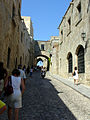 Rhodes Old Town Street of Knights 8.JPG