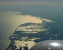 Il delta del Rodano nella regione della Camargue