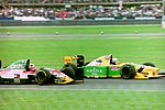 Riccardo Patrese and Johnny Herbert 1993 Silverstone.jpg