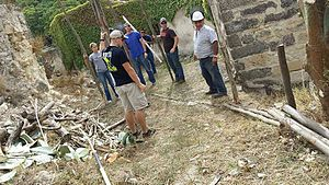 Cunziria - The contribution of the marines in the renovation project of Cunziria