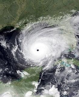 Hurricane Rita Category 5 Atlantic hurricane in 2005