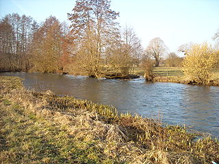 Avre (Eure) river in France, tributary of the Eure