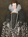 Robert Peake the Elder - Portrait of a Woman, Traditionally Identified as Mary Clopton (born Waldegrave), of Kentwell Hall, S... - Google Art Project.jpg