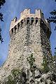 Rocca di Arquata del Tronto - Torrione a pianta esagonale.jpg