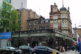 Rising Sun, Euston - The Rising Sun, now The Rocket