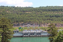 Rocky Mountain Hydroelectric Plant power station.JPG