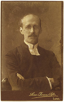 Edvard Rodhe i begyndelsen af 1900-tallet.