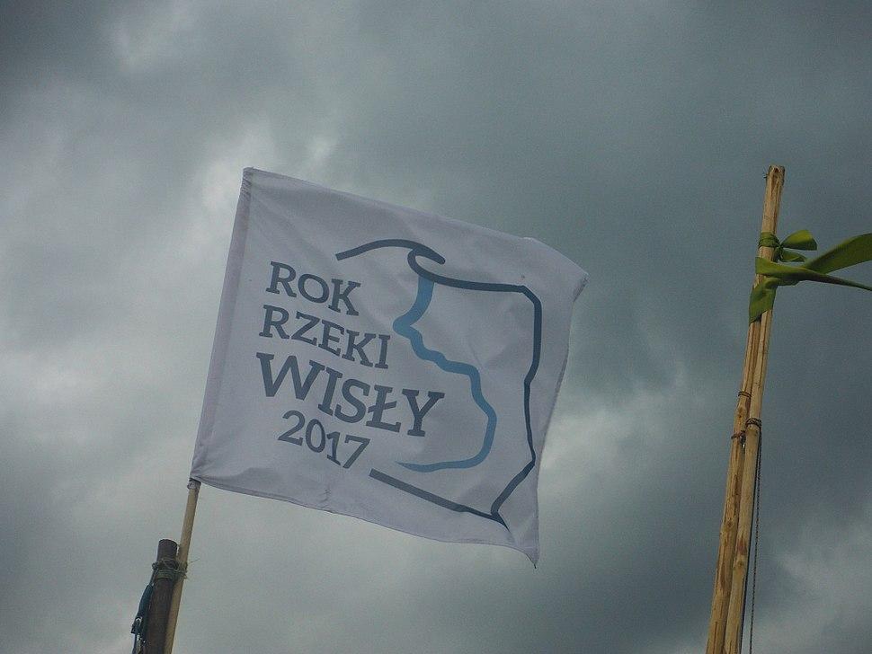 Rok Rzeki Wisły 2017 - flaga 01
