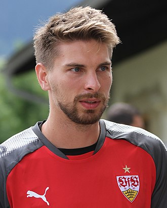 Ron-Robert Zieler - Zieler with VfB Stuttgart in 2017