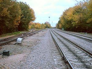 Rostokino railway station - Image: Rostokino st
