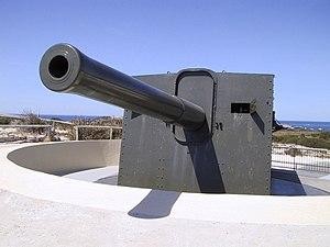 Rottnest Island - BL 9.2 inch Mk X gun at Oliver's Hill