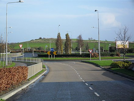Roundabout at Charlesland